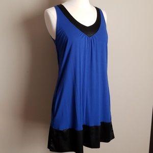 Express sleeveless dress with pockets